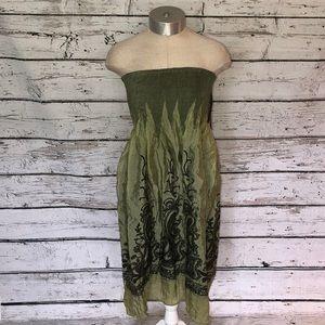 Lapis Girl Convertible Dress Skirt NWT